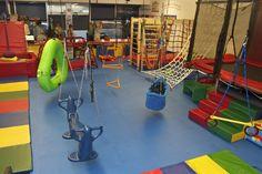 Tarzana Photo Gallery - We Rock the Spectrum Kids Gym Kids Gym Equipment, Sensory Equipment, Home Climbing Wall, Gym Photos, We Rock, Indoor Playground, Bunk Beds, Spectrum, Gymnastics