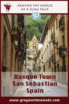 The weather wasn't too good in France. So, why not undertaking a city trip around the Pyrenees to the Basque town of San Sebastián in Spain? A photo journal of a great town.
