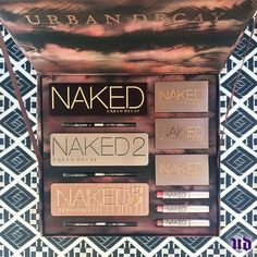 Urban Decay-  The Naked Vault II, eye palette kit