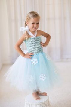 Do you want to build a snowman!? These Frozen Inspired tutu dresses are sure to bring a big smile and a lot of fun and wonder to your little girl! Whether your