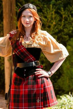 Scotland Kilt for Women | Beautiful european girls from United Kingdom
