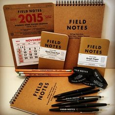 Thanks to @fieldnotesbrand for donating this great kit as a prize at the event. #Be_Chicago #BehanceReviews