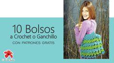 10 Increibles Bolsos a Crochet con gráficos #ctejidas http://blgs.co/q9u2Ij