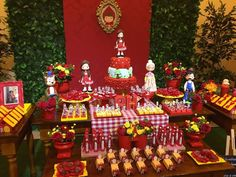 Decoração Chapeuzinho Vermelho – Inspire sua Festa ®