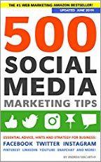 About Marketing, Startup, business: N-Format: 2 Books: 500 Social Media Tips Inbound Marketing, Facebook Marketing, Content Marketing, Social Media Marketing, Business Marketing, Marketing Plan, Social Networks, Mobile Marketing, Business Entrepreneur