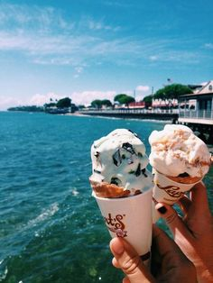 Cant wait to eat ice cream on hot summer days :) Milk Shakes, Summer Vibes, Summer Feeling, Summer Nights, I Need Vitamin Sea, Good Vibe, Love Is In The Air, Beach Bum, Summer Of Love
