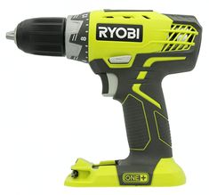 Ryobi One+ Lithium Ion Drill/Driver with Inch Keyless (Select) Ryobi Tools, Cordless Drill Reviews, Cordless Hammer Drill, Magnetic Storage, Driving Jobs, Speed Drills, Thing 1, Drilling Holes