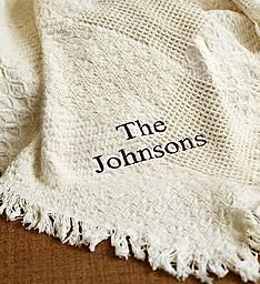Personalized Family Afghan