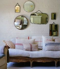 Home Shabby Home:Decoration Idea: Antique Grain Sacks