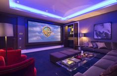 If we have an empty room in our house, it might not hurt if we use it as a movie room or home theater room. Home Theater Room Design, Movie Theater Rooms, Home Cinema Room, Design Living Room, Game Room Design, Home Theatre, Home Theater Projectors, Home Movies, Room Setup