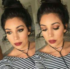 Date Night Glam By: Stephanie Zeligman  Addiction Palette #4 Stiff Upper Lip Stain- Sleek