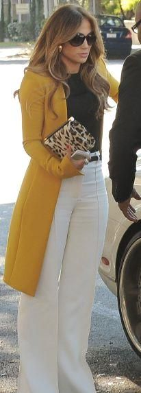 I want a yellow coat like this!