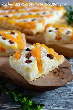 Mazurek kokosowy najpyszniejszy Spring Recipes, Easter Recipes, Dessert Recipes, Polish Desserts, Polish Recipes, Polish Food, Polish Easter, Christmas Baking, Sweet Recipes