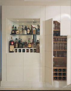bares e adegas em casa - Casa