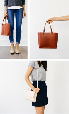 Buttery and modern leather bags and wallets. Get your hands on a little piece of @gracegordonLDN! Click for details.