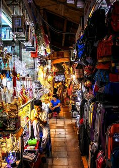 Ben Thanh market, Ho Chi Minh City, Vietnam...great shopping!