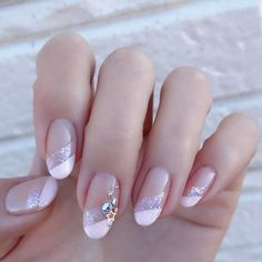 In order to make to make your nails summer ready, you need to push your creativity. The presence of nail art decals, dotting tools, acrylic nails, stencils and different kinds of paints make it very easy for you to achieve the desired results. French Nail Designs, Nail Polish Designs, Nail Art Designs, Bridal Nails, Wedding Nails, Mauve Wedding, Wedding Art, French Nails, Fun Nails