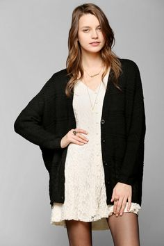 Coincidence & Chance Chunky Cable-Knit Cardigan