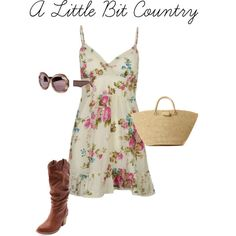 A Little Bit Country by cottonfashion on Polyvore