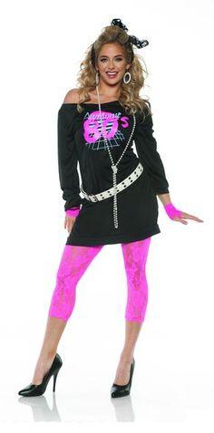 Neon Diva Green Glamour Rock Star Costume NWT 4-6 8-10 12-14