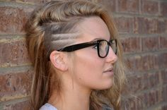 This is the amount of sidecut that I want, but it would stop right behind the ear. :)