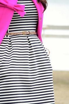 looooove the stripes and pink