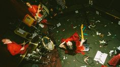 """Teri Gender Bender of Le Butcherettes does this thing where she """"self-appreciates"""" on stage."""