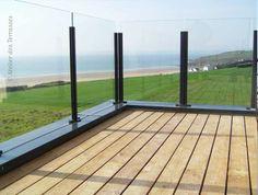 Garde-corps de terrasses et d'escaliers — Atelier des terrasses Brest, Quimper, Lorient