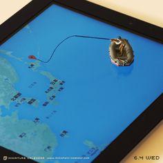 Fun Miniature Diorama Calendar by Tanaka Tatsuya