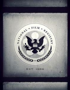 National Film Registry Logo - Justin Van Genderen