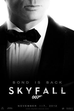 Skyfall one of the best 007 movies. Theme song written and performed by Adele.