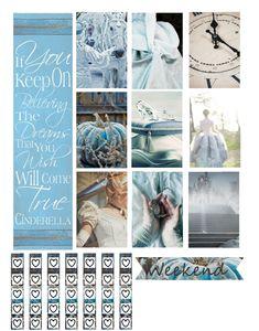 Cinderella Planner Printable