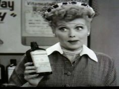 Vitameatavegiman... I think this is even funnier that the Ethel and Lucy at the chocolate factory episode.  I love Lucy!!!