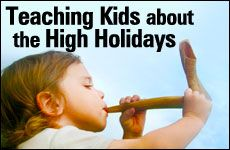 Teaching Kids about the High Holidays