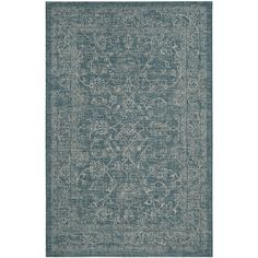 Perfect for any backyard, patio, deck or along the pool, this rug is great for outdoor use as well as any indoor use that requires an easy to maintain rug, Safavieh's Courtyard collection was created