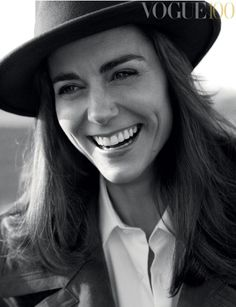 vogueaustralia:  Kate Middleton for the 100th Vogue UK cover
