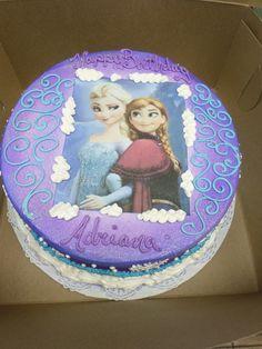 Elsa & Ana Cake
