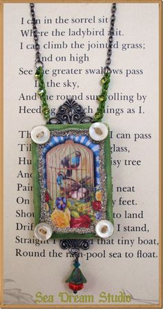 So sweet! Altered art