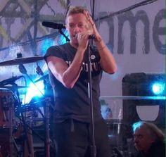 Chris w/ U2 World Aids Day - 12/1/14
