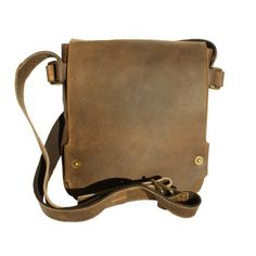 Take your iPad or notebook where ever you go, with this stylish Bison Leather messenger bag from Alberta Fine Leathers - designed by Adrian Klis.