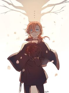 from the story 🌹[Funny chats and pictures Soukoku]🌹 by -Hinata_Shoyo with 188 reads. Manga Anime, Anime Guys, Anime Art, Bungou Stray Dogs Chuya, Stray Dogs Anime, Chibi, Funny Chat, Chuuya Nakahara, Dazai Osamu