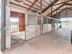 Goat Barn, Farm Barn, Dream Stables, Dream Barn, Chickasha Oklahoma, Small Horse Barns, Horse Barn Designs, Horse Shelter, Horse Barn Plans
