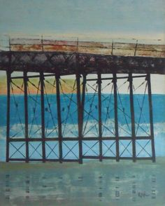 pier Republic Of Ireland, British Isles, Europe, Friends, Artwork, Painting, Art, Painters, Amigos