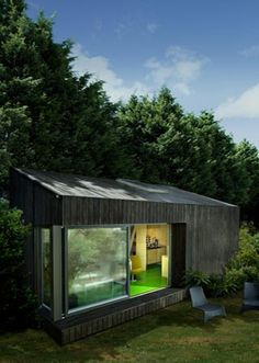 Mono-pitched Garden Buildings