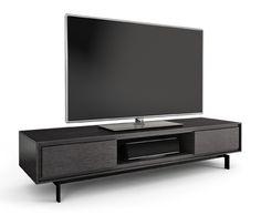 BDIu0027s Signal 8323 TV Console In Black #hometheater #furniture #console