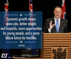 We're committed to achieving economic growth and lifting the living standards of New Zealanders.