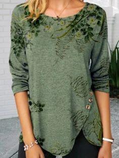 Green Vintage Shirts & Tops   Tops   Anniecloth 1 Green Women Tops Vintage Polyester Tops   anniecloth