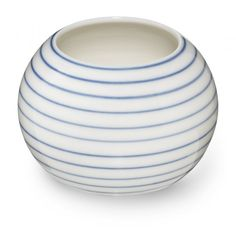 Stripes sugar bowl narrow blue line SR360B - Stripes sugar bowl narrow blue line - collections