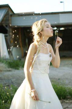 Vintage Farm Wedding Inspiration Part II Fish Tail Braid Rustic Wedding Inspiration, Cute Wedding Ideas, Wedding Styles, Farm Wedding, Dream Wedding, Forest Wedding, Wedding Stuff, Wedding Photos, Elegant Wedding Dress