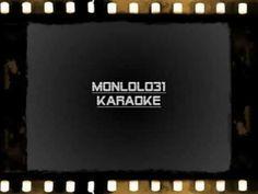 ▶ Daniel Balavoine - le chanteur (karaoké) - YouTube